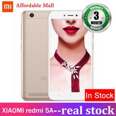 Certified Refurbished : XIAOMI redmi 5A 2GB + 16GB  5.0'' screen MIUI9  13mp+5mp  smartphone gold 2gb+16gb
