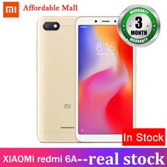 Certified Refurbished : XIAOMI redmi 6A  2GB+16GB  5.45'' full screen  13mp +5mp  MIUI smartphone gold 2GB+16GB
