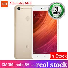 Refurbished  XIAOMI redmi note 5A 4GB+64GB  5.5''screen 13mp+5mp  MIUI9  Adreno308 smartphone golden 4g+64g