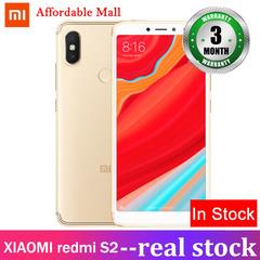 Certified Refurbished :XIAOMI redmi S2 3GB+32GB 17mp+16mp three cameras 5.99''screen Android 8.1 gold 3gb+32gb