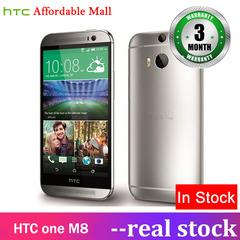 Certified Refurbished :HTC One M8 3GB + 32GB  5.0''screen 6mp+5mp three cameras smartphone silver 3g+32g