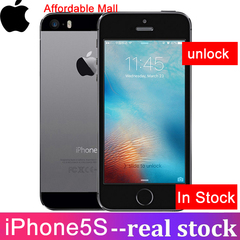 Refurbished Apple iPhone 5S iPhone5S Iphone5s 16/32GB ROM Unlocked  Fingerprint 4''Inch Smartphone black 16GB