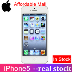 Refurbished iPhone 5 iPhone5 Iphone5 Iphone 5 -IOS Smartphone  16GB/32GB -4.0''Inch- Unlocked white 1GB+16GB