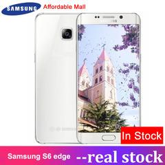 Refurbished Samsung Galaxy S6 Edge Smartphone 5.1''Inch 3GB RAM  32GB ROM s6 edge white 32GB