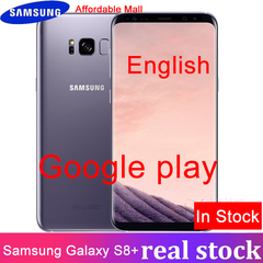 Refurbished Samsung Galaxy S8 Plus  64GB ROM+4GB RAM, 3500mAh,12MP+8MP, 6.2''Inch Smartphone Single SIM gray   64GB