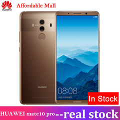 NEW HUAWEI mate 10 pro 6GB+64GB 6.0'' screen 32mp+8mp Android 8.0 Smartphone Mocha gold 64gb