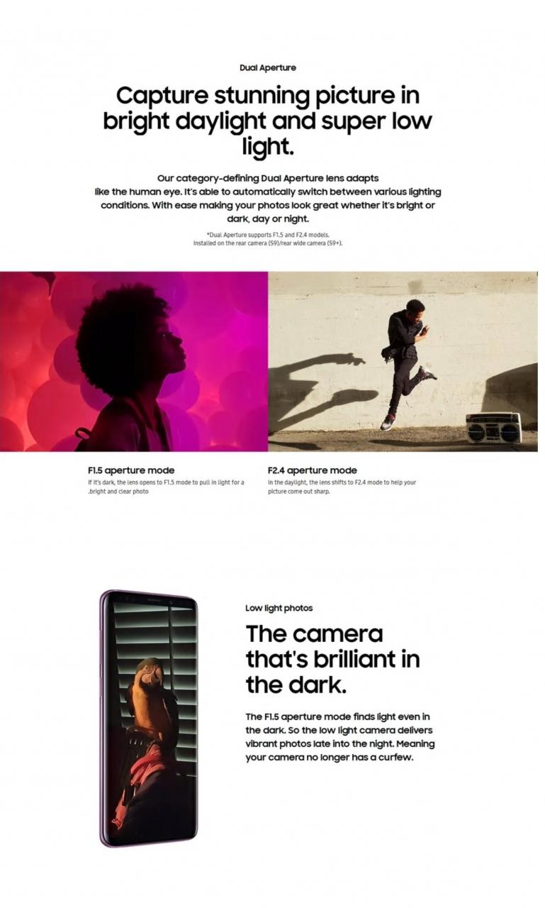 Refurbished Samsung Galaxy S9 Plus S9 + Smartphone 6.2 inch 6GB RAM 64GB ROM SAMSUNG s9 Plus s9 Single SIM black 64GB 4