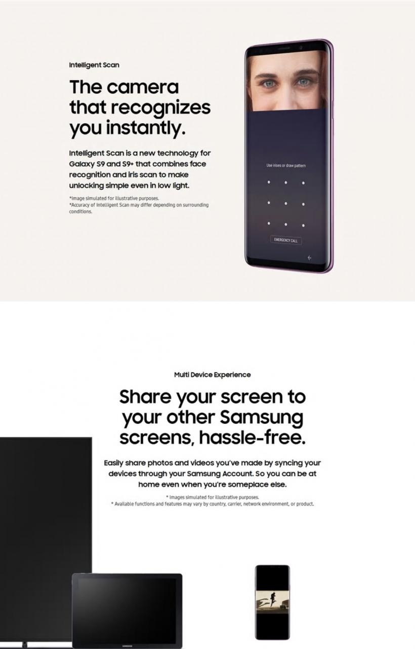Refurbished Samsung Galaxy S9 Plus S9 + Smartphone 6 2 inch 6GB RAM 64GB  ROM SAMSUNG s9 Plus s9 Single SIM black 64GB