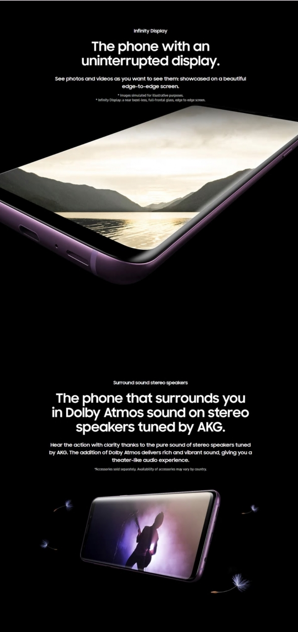 Refurbished Samsung Galaxy S9 Plus S9 + Smartphone 6.2 inch 6GB RAM 64GB ROM SAMSUNG s9 Plus s9 Single SIM black 64GB 6