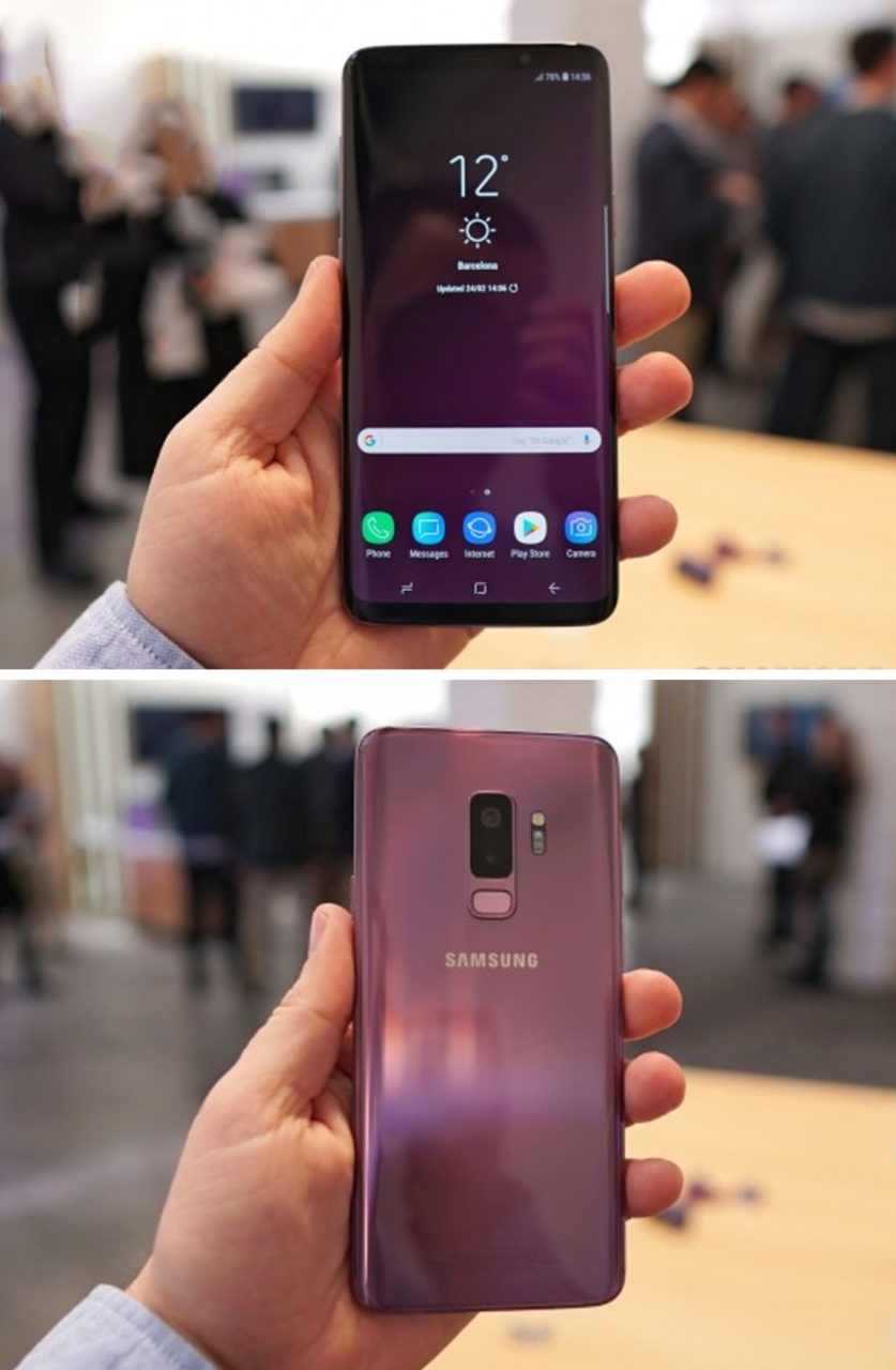 Refurbished Samsung Galaxy S9 Plus S9 + Smartphone 6.2 inch 6GB RAM 64GB ROM SAMSUNG s9 Plus s9 Single SIM black 64GB 8