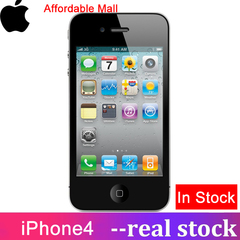 Refurbished  iPhone4 iPhone 4 Smartphone Iphone 4  512M RAM  8GB/16GB ROM  Apple unlocked WIFI black  8GB