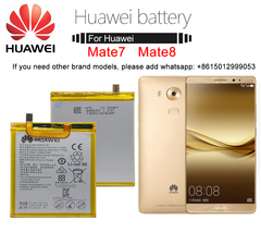 HUAWEI Phone Battery For Huawei Mate 8 MATE 7  Replacement batteries Original Mate 8