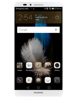 Global Firmware Refurbished Smartphone Huawei Mate 7 3GB+32GB -6'' Double SIM Silver 2GB+16GB
