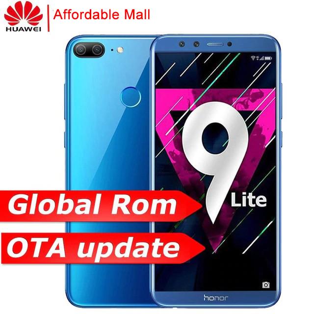 "Global Version  Refurbished  Huawei Honor 9 Lite 5.65"" 2160*1080 Smartphone Dual Camera 3000mAh gray 3GB+32GB"