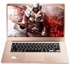 Brand new Deffad A3 14 inches 2GB+32GB win10 Quad-core low-power thin and light notebook gold 33.5cm*22.5cm*0.8cm