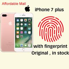 Refurbished iPhone7 plus iphone 7 plus  iOS 3GB+32GB /128GB 2400MP+700MP With Fingerprint Iphone Rose golden  32GB