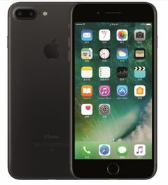 Refurbished Apple iPhone 7 plus iphone 7plus iOS 3GB+32GB 24MP+7MP without Fingerprint black  No fingerprint