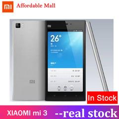 Certified Refurbished : XIAOMI mi 3 - 2GB+16GB - 13MP+5MP- 5.0'' Inch 99%New silver 2gb+16gb