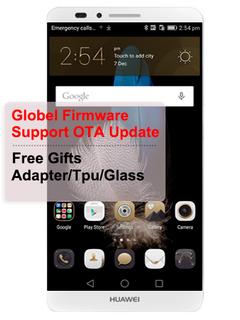 Global Firmware Refurbished  Huawei Mate 7 Mate7 Smartphone 2GB/3GB+16GB/32GB -6.0''InchDual SIM Silver 2GB+16GB