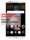 Global Firmware Refurbished  Huawei Mate 7 Mate7 Smartphone 2GB/3GB+16GB/32GB -6''screen Dual SIM Silver 2GB+16GB