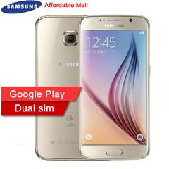 Refurbished Samsung Galaxy S6  Smartphone 3GB RAM 32GB  ROM  Dual SIM 4G LTE 16MP 5.1