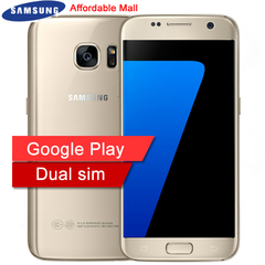 Refurbished Samsung Galaxy S7 Dual SIM Smartphone  RAM 4GB  ROM 32GB Unlocked 4G LTE 5.1