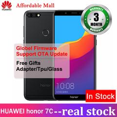 New International Version Huawei honor 7C 5.99''  3GB RAM + 32GB ROM 15mp+8mp three cameras black