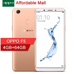 OPPO F5 Smartphone 4GB+64GB -6.01'' 16MP+16MP 3000mAh Double SIM Based on Android 7.1 golden