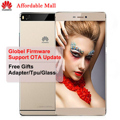Global Firmware Refurbished Huawei P8 Smartphone 3GB - 16GB/64GB 5.2''screen 13MP+8MP 4G LTE Dual golden 16GB