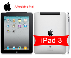 Refurblished iPad 3 ipad 3 iPad3  9.7 ''  16GB/ 32GB optiponal Wifi + 3G network tablet 16gb+wifi only