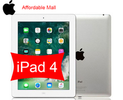 Refurbished  Apple iPad 4  iPad4  ipad 4  16GB - 5 MP+2 MP- 9.7 Inch+ 3G network 16gb+wifi only