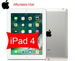 Refurbished  Apple iPad 4  iPad4  ipad 4  16GB - 5 MP+2 MP- 9.7 screen+ 3G network 16gb+wifi only
