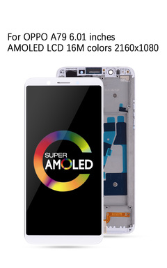 for OPPO A79 LCD screen touch screen display digitizer white one size