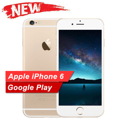 NEW Apple iPhone 6 iPhone6  Smartphone 16GB/64GB/ ROM- 4.7'screen with fingerprint iphone golden 16gb