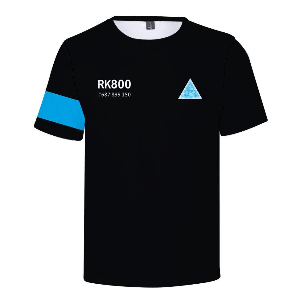 43851c2e0f3 Detroit Become Human 3D Print Around the Game T-Shirt black L ...
