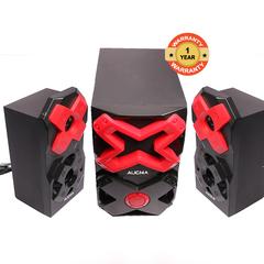 Aucma A625  50W 2.1ch black&red 50w A625