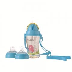 Best baby bottles PPSU material multifunctional baby bottle milk blue 330ml
