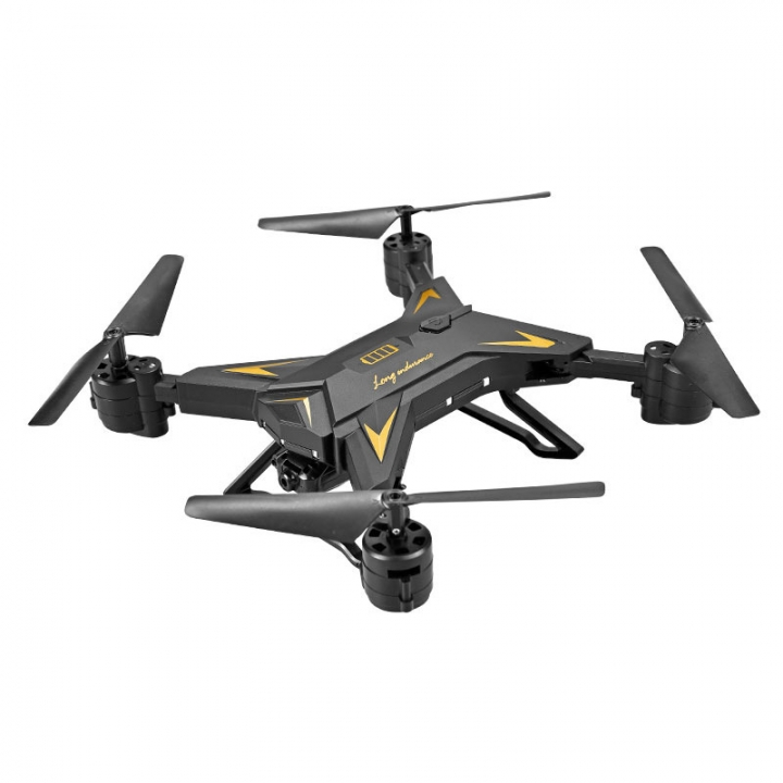 KY601S Long flight time's Folding Aerial Drone Fixed High Four-axis Aircraft Original Authentic black Have a camera