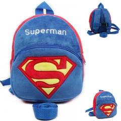 Children cartoon school bag  1-3years baby Bag kids Backpack blue
