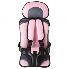 Nice Baby Multi-function car cushion Safety seat pink 71*31cm