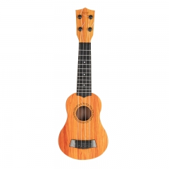 Children can play ukulele instruments and guitars