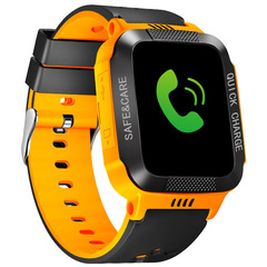 Children's Smart Watch  For Kids With Sim Card Photo Waterproof IP67 Kids Gift GPS Positioning orange 3.5*4.2*1.5cm