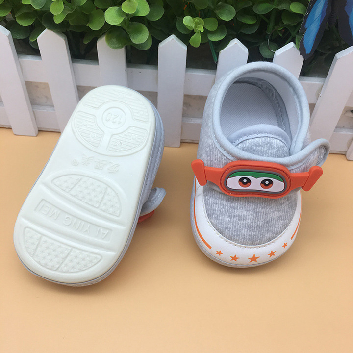 Nice Baby A new pair of baby shoes is suitable for toddlers of 1-12 months gary one size