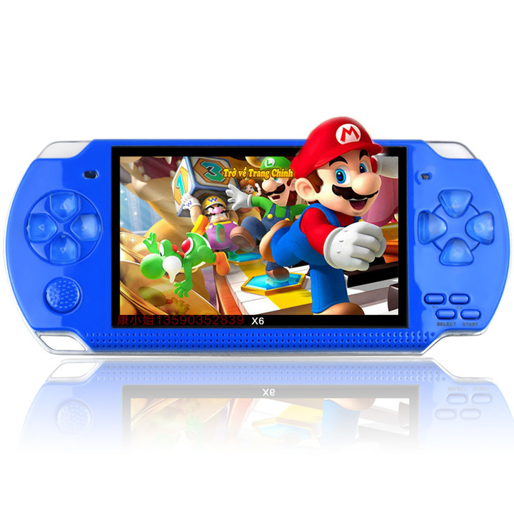 Handheld Children Student GamePad Player 4.3 inch Colorful Display Game Console 10000 Games