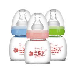 A glass juice bottle Cheap baby bottles Baby Training Cup Learn to Drink Feeding Bottle blue 60ml