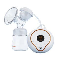 Multidimensional massage Electric breast pump white 160ml