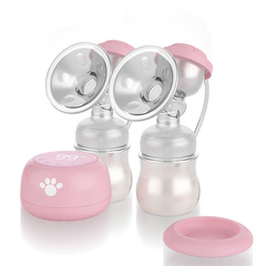 A Nice Baby double electric breast pump Massage&suction pink 320ml