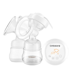 A bi-directional electric breast pump automatic device massages the breast pump white 320ml