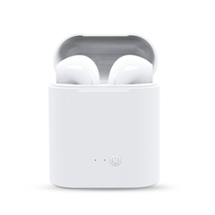 Hot Sell  Wireless Bluetooth Earphone Stereo Earbud Headset With Charging Box Mic white