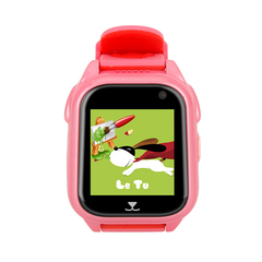 Children WristWatch GPS+SOS Smart Phone Watch  with SIM Camera Waterproof Smartwatch For Android red 5*4*1.6cm
